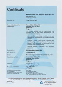 AD 2000-Merkblatt HP0